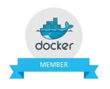 Docker authorized partner logo
